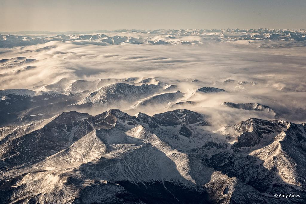 "Today's Photo Of The Day is ""The View From Above"" by Amy Ames. Location: Rocky Mountains, Colorado."