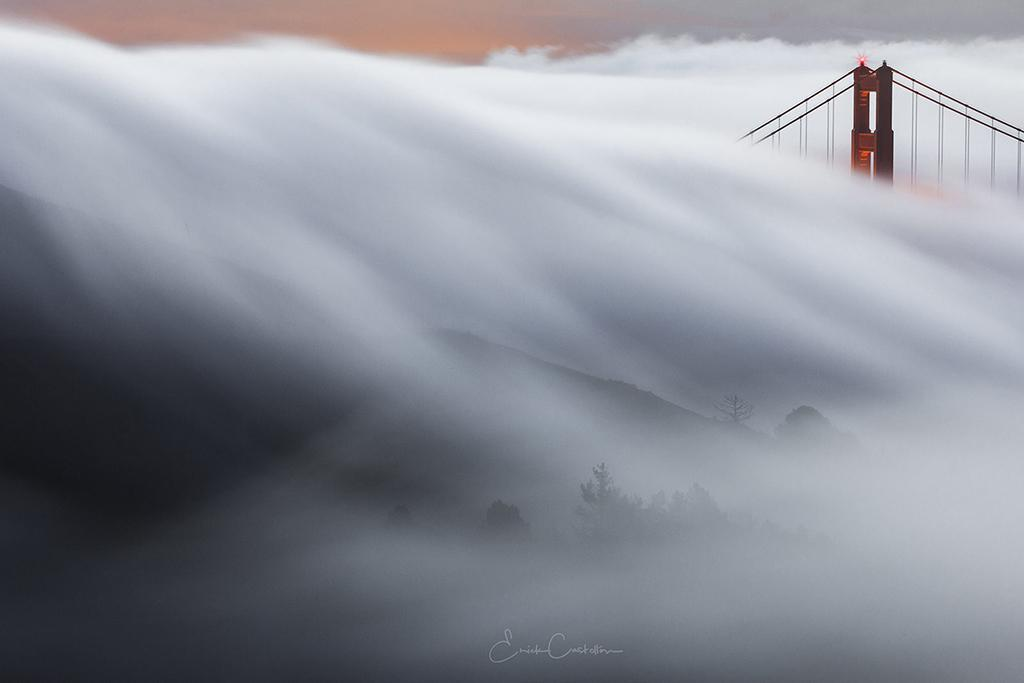 "Today's Photo Of The Day is ""The Wave"" by Erick Castellon. Location: San Francisco, California."