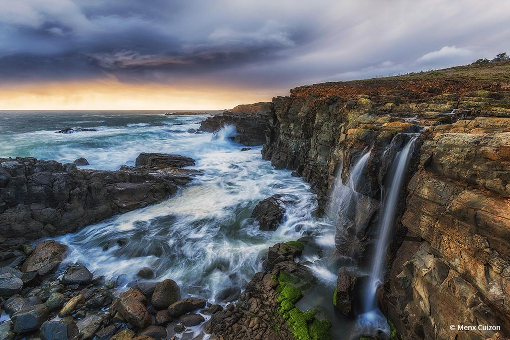 """Today's Photo Of The Day is """"Coastline Sunset"""" by Menx Cuizon. Loctation: Sonoma Coastline, California."""