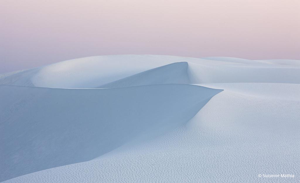 "Today's Photo Of The Day is ""Whipped Topping"" by Suzanne Mathia. Location: White Sands National Monument, New Mexico."