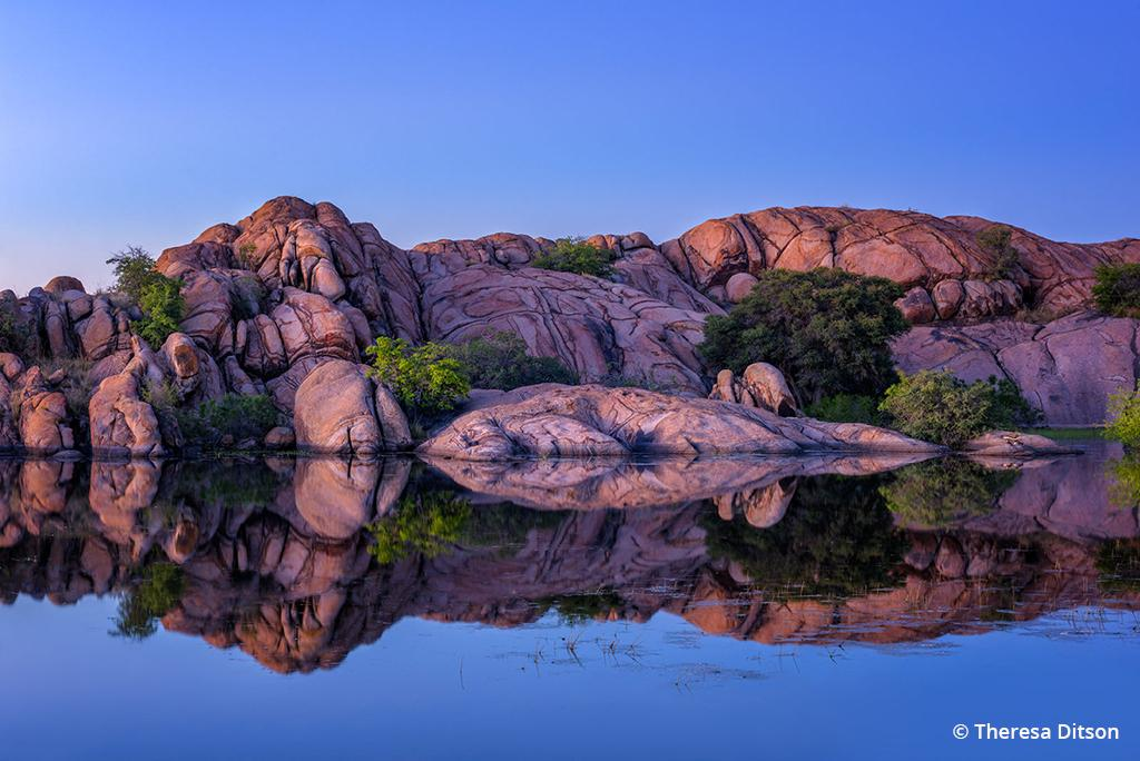 "Today's Photo Of The Day is ""Kaleidoscopic Reflections"" by Theresa Ditson. Location: Prescott, Arizona."