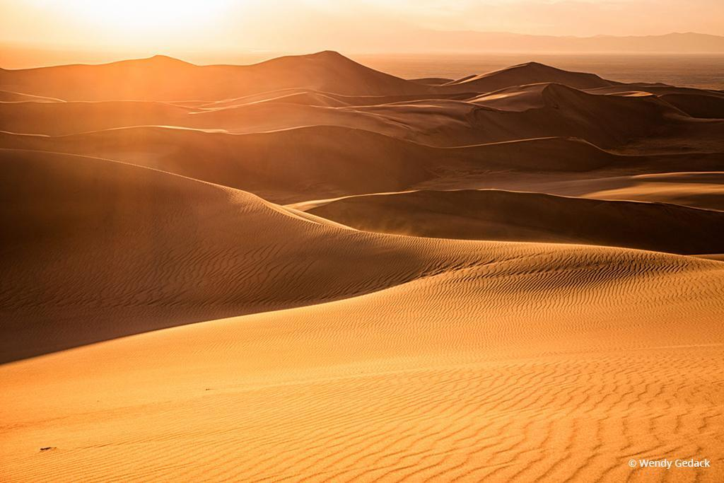 """Today's Photo Of The Day is """"Whispers of Sand"""" by Wendy Gedack. Great Sand Dunes National Park, Colorado."""