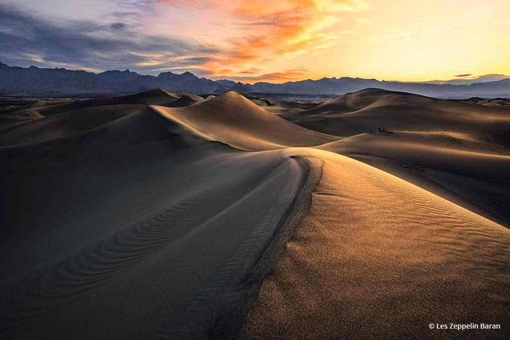 "Today's Photo Of The Day is ""Shoshine"" by Les Zeppelin Baran. Location: Death Valley National Park, California."