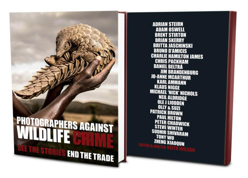 Photographers Against Wildlife Crime book cover
