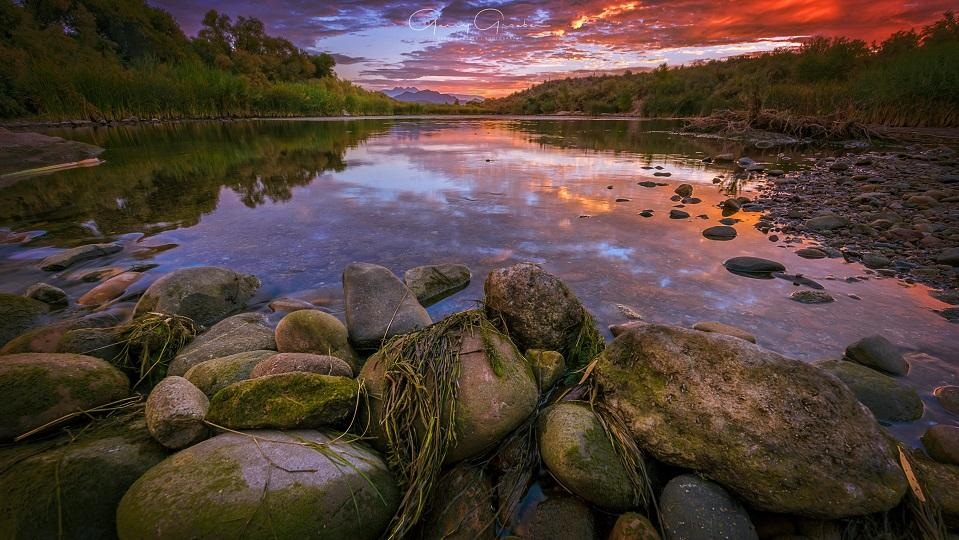 "Today's Photo Of The Day is ""Morning Color"" by Gerry Groeber. Location: Salt River, Arizona."
