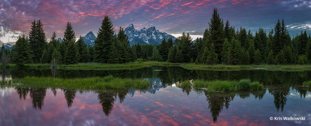 "Today's Photo Of The Day is ""Beavers World"" by Kris Walkowski. Location: Grand Tetons National Park, Wyoming."