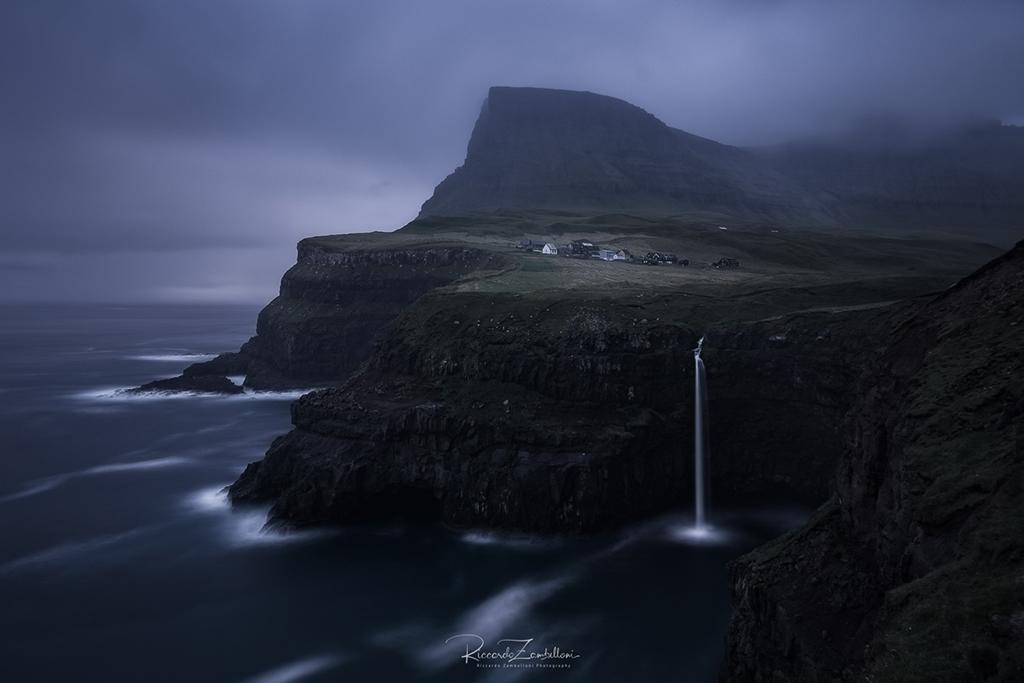 "Today's Photo Of The Day is ""On The Edge"" by Riccardo Zambelloni. Location: Faroe Islands."