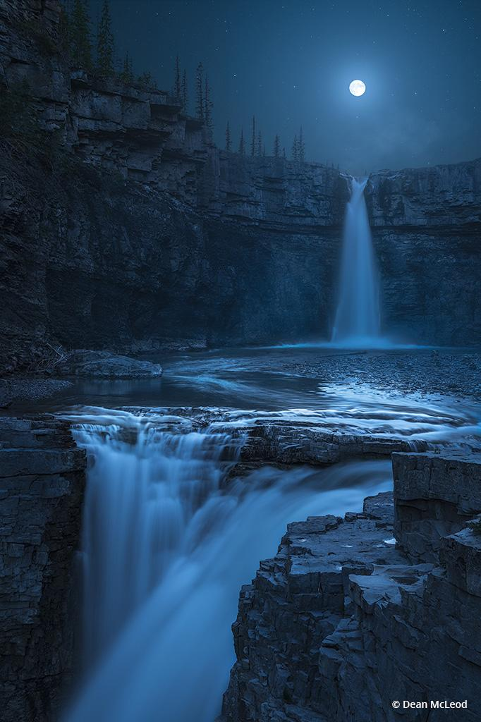 "Congratulations to Dean McLeod for winning the recent Go With The Flow Assignment with the image, ""Crescent Falls."""