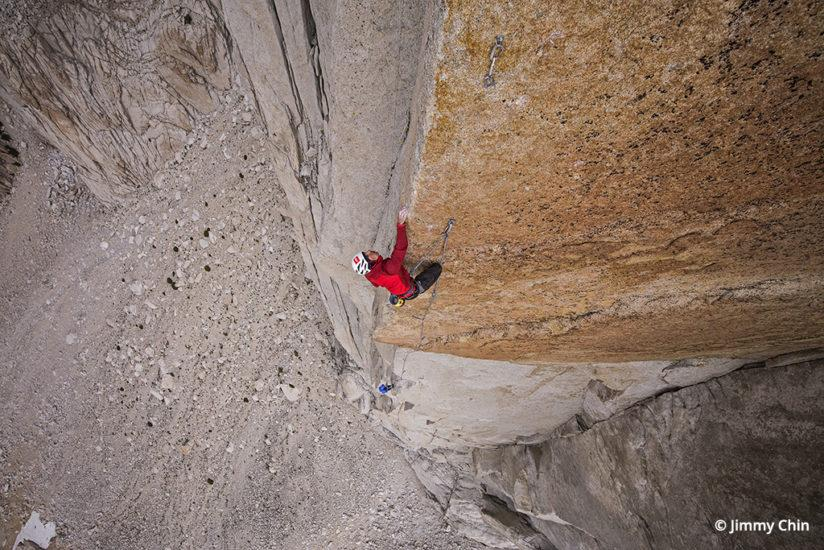 Photo of Alex Honnold by Jimmy Chin