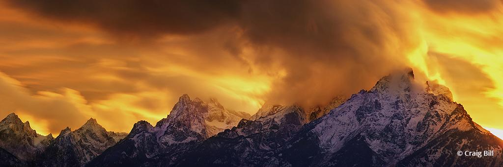 "Today's Photo Of The Day is ""Event Horizon"" by Craig Bill. Grand Teton National Park, Wyoming."