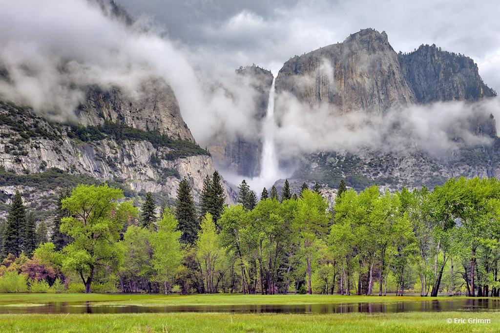 """Today's Photo Of The Day is """"Yosemite Falls"""" by Eric Grimm. Location: Yosemite National Park, California."""