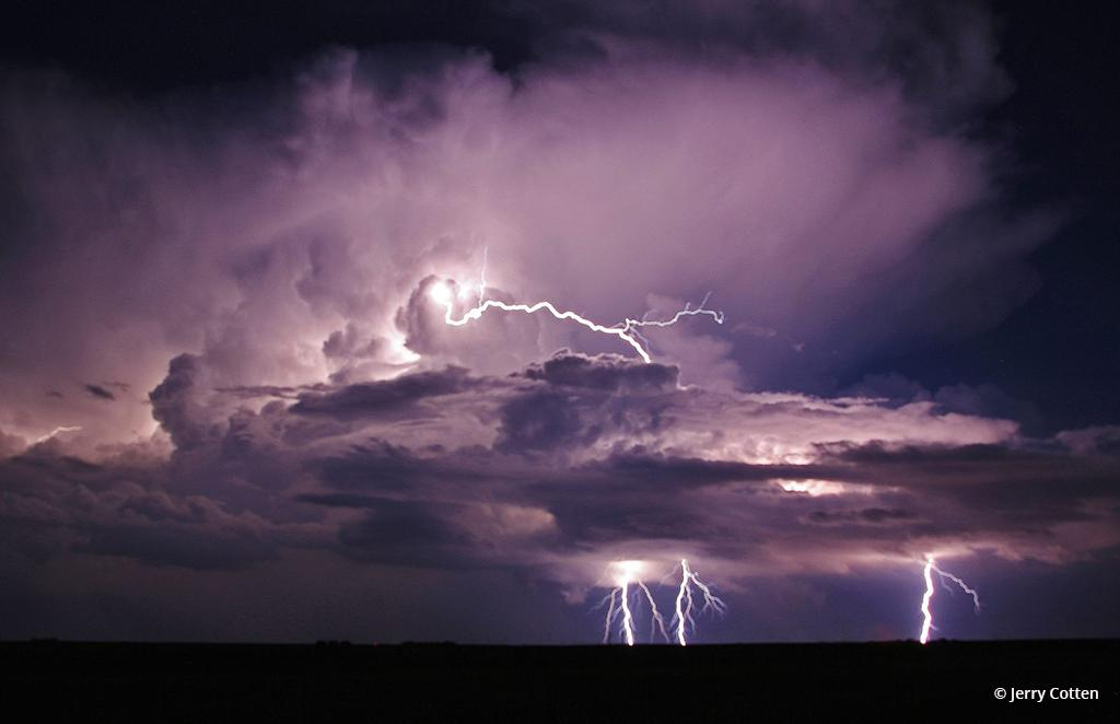 "Today's Photo Of The Day is ""Texas Lightning"" by  Jerry Cotten."