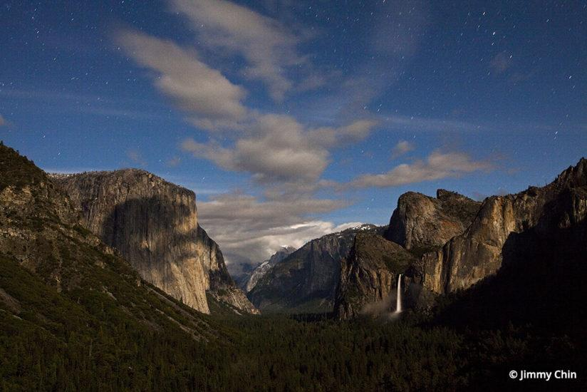 Yosemite Valley under the stars by Jimmy Chin