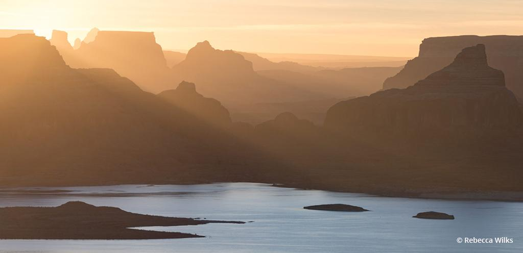 "Today's Photo Of The Day is ""Alstrom"" by Rebecca Wilks Location: Alstom Point, overlooking Lake Powell in Utah."