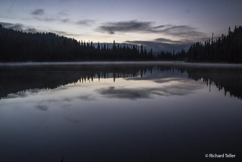 "Today's Photo Of The Day is ""Predawn"" by Richard Teller. Location: Mt. Rainier National Park, Washington."