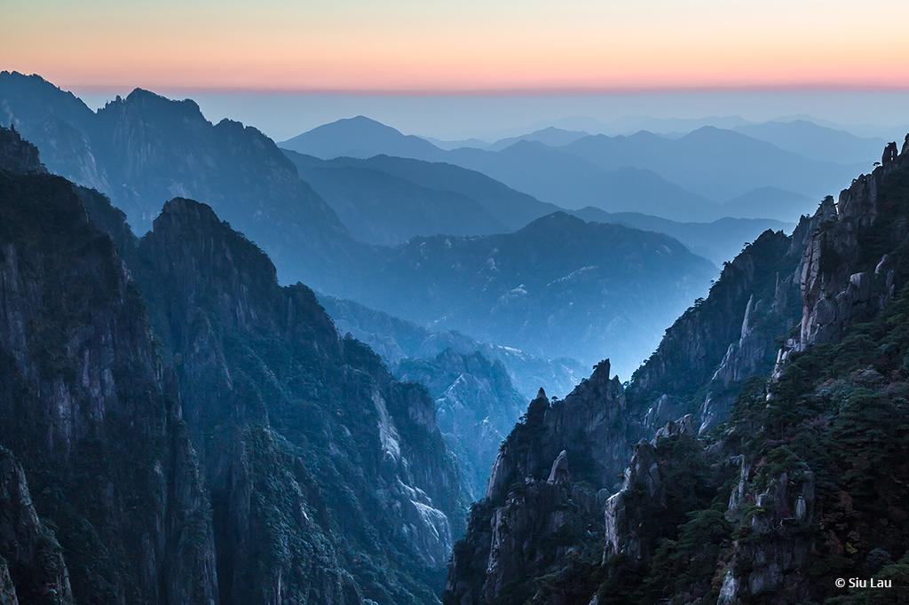"Today's Photo Of The Day is ""Twilight at Xihai Canyon"" by Siu Lau."