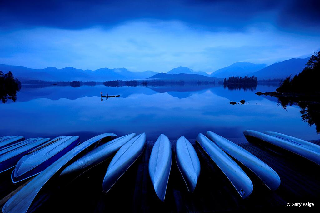 "Today's Photo Of The Day is ""Twilight on Elk Lake"" by Gary Paige. Location: Adirondack Park, New York."
