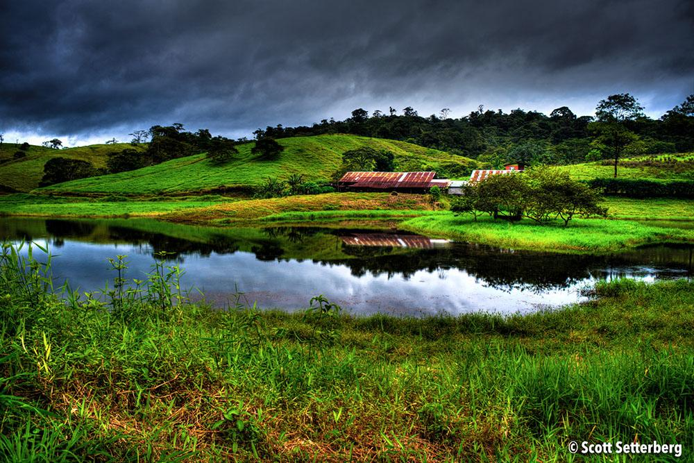 Meadow Lake in Costa Rica's Central Valley