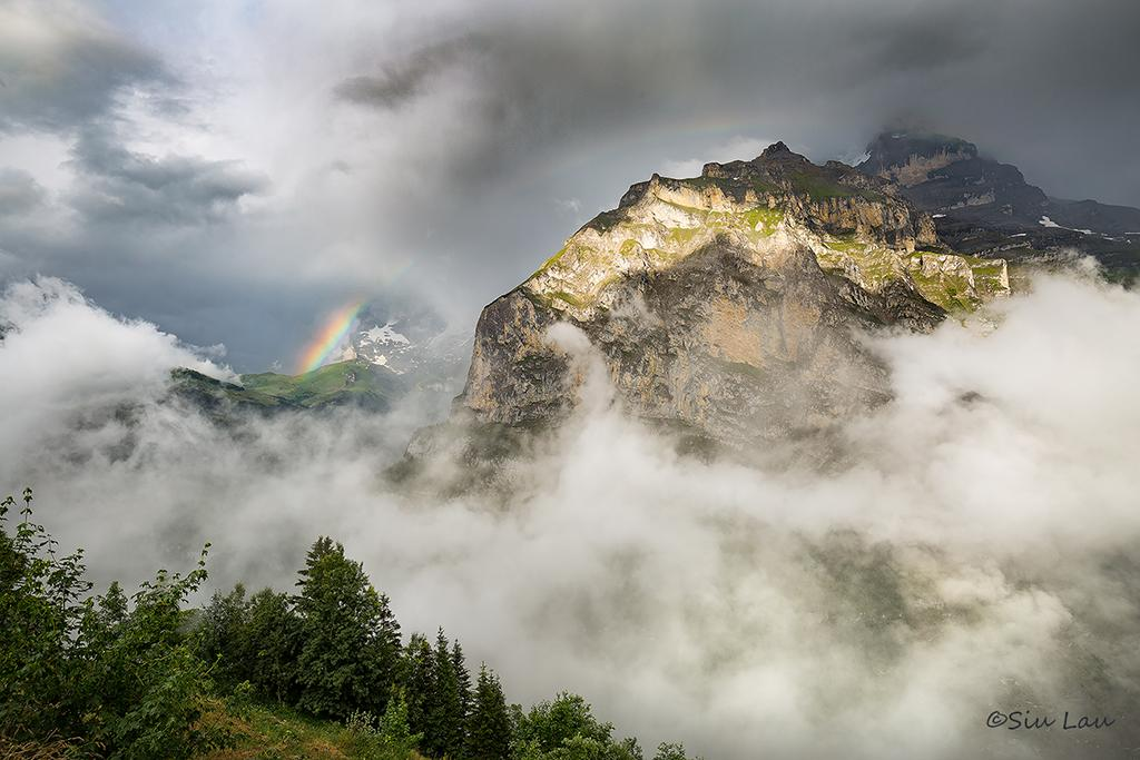 "Today's Photo Of The Day is ""Intermission"" by Siu Lau. Location: Murren, Switzerland."