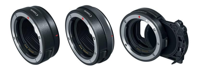 Canon EOS R lens adapters