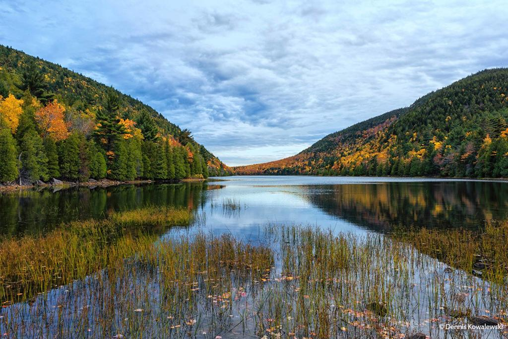 "Today's Photo Of The Day is ""Bubble Pond Delight"" by Dennis Kowalewski. Location: Acadia National Park, Maine."